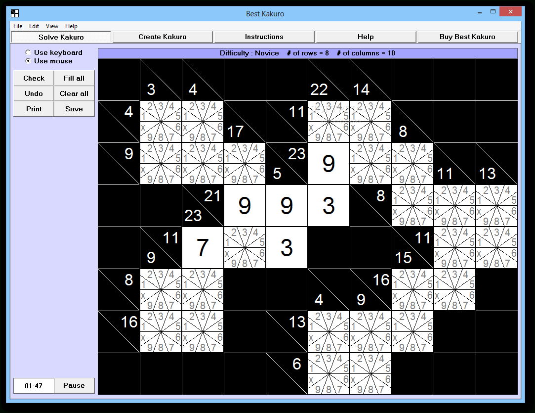 Download Best Kakuro 4.0 - Printable Kakuro Puzzles Hard