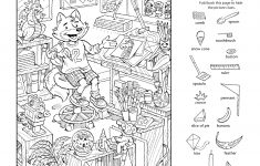 Download This Free Printable Hidden Pictures Puzzle To Share With   Printable Hidden Object Puzzles