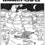 Download This Free Printable Winter Hidden Pictures Puzzle To Share   Printable Puzzles Winter