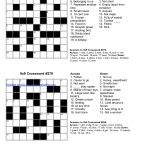 √ Printable English Crossword Puzzles With Answers   Printable Crossword Puzzles Categories
