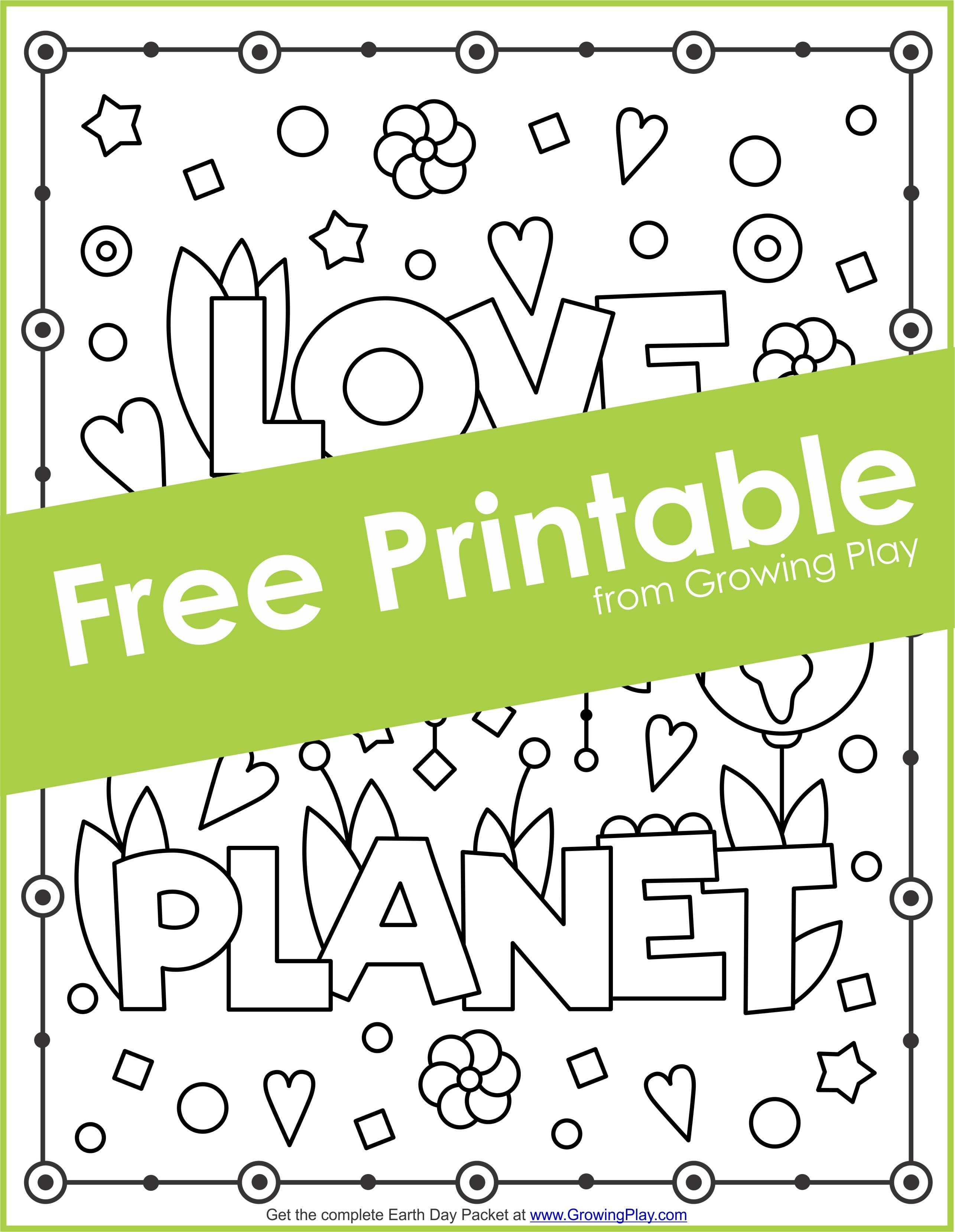 Earth Day Puzzle Packet - Your Therapy Source - Printable Puzzle Packet