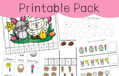 Easter Activities For Toddlers And Preschool Printables   Fun With Mama   Printable Puzzle For Toddlers
