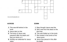 Easter Crossword Puzzle   Printable Crossword Puzzles Easter