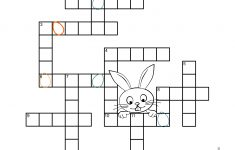 Easter Crossword Puzzle   Sunshine And Rainy Days   Printable Crossword Puzzles Easter