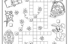 Easter Crossword   Teaching English   Easter Crossword, Easter   Easter Crossword Puzzle Printable Worksheets