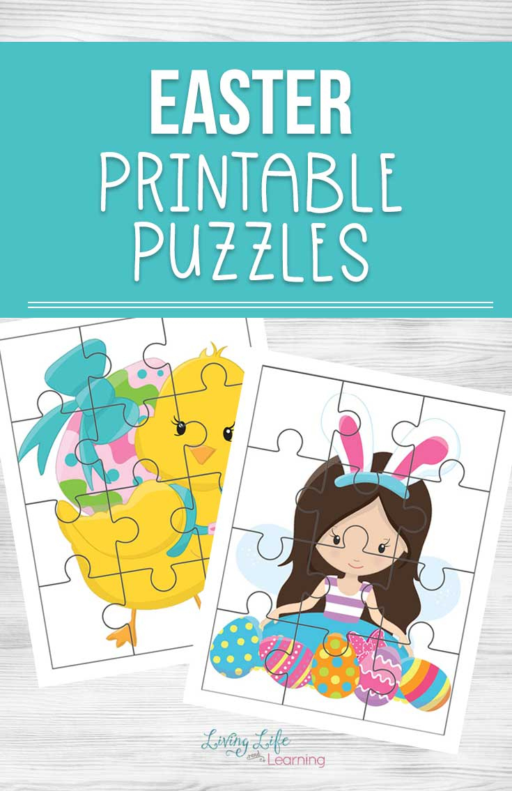 Easter Printable Puzzles - Printable Easter Puzzles
