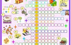 Easter:crossword Puzzle With Key Worksheet   Free Esl Printable   Printable Easter Puzzle
