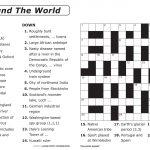 Easy Printable Crossword Puzzles | Elder Care & Dementia Care   Printable Crossword Puzzles For Grade 1