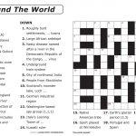 Easy Printable Crossword Puzzles   Elder Care & Dementia Care   Printable Crossword Puzzles With Answers Pdf