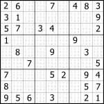 Easy Sudoku Printable | Kids Activities   Printable Puzzles Sudoku