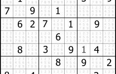 Easy Sudoku Printable | Kids Activities – Printable Sudoku Puzzles Online