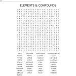 Elements & Compounds Word Search   Wordmint   Printable Compound Word Crossword Puzzle