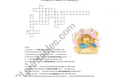 English Worksheets: Personality Traits  Crossword Puzzle   Printable Character Traits Crossword Puzzle