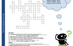 Enjoyable Esl Printable Crossword Puzzle Worksheets With Pictures   Printable Crossword For Middle School