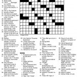 Even Odds Sports Themed Crossword Puzzle   Sports Crossword Puzzles Printable