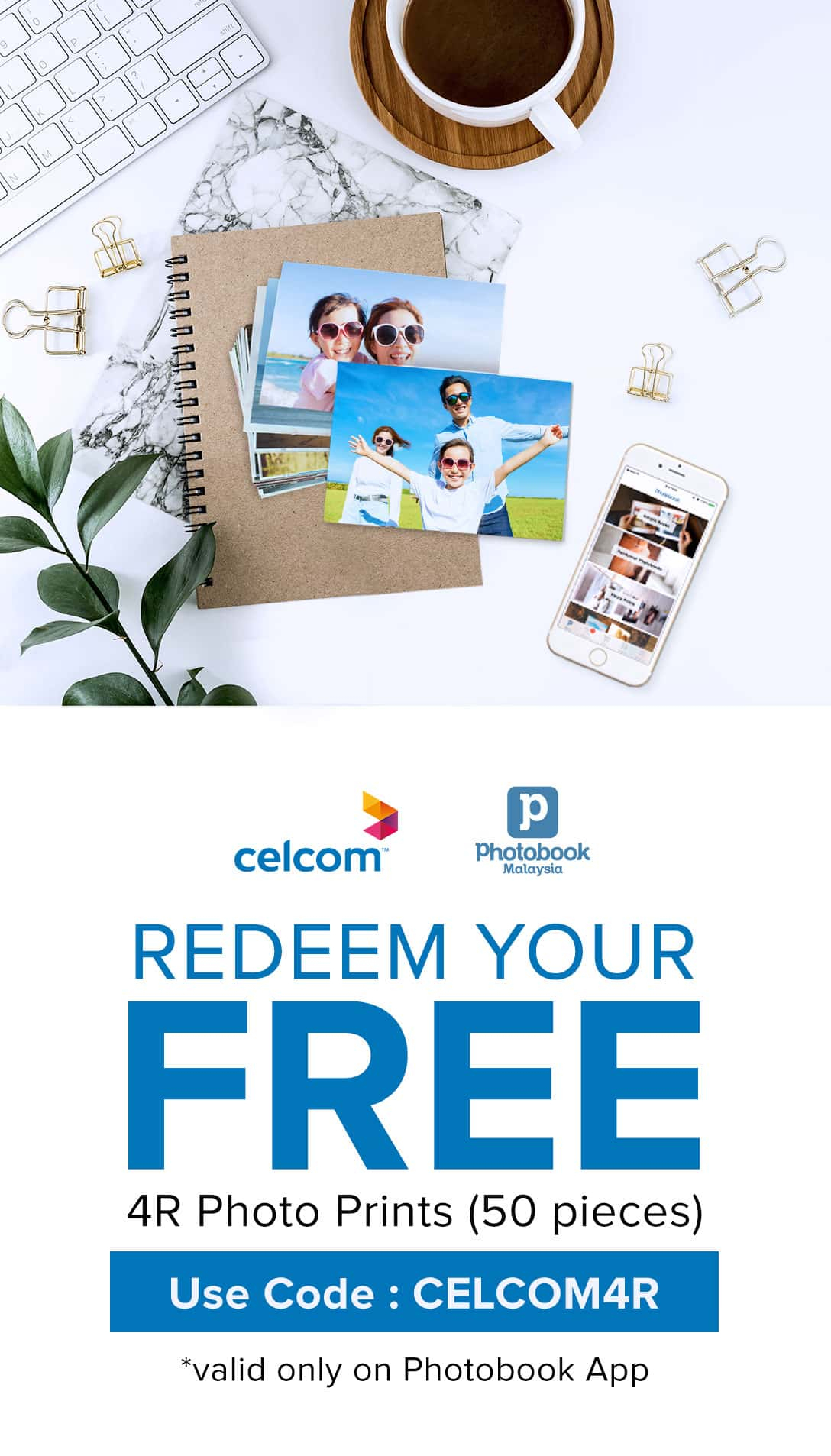 Exclusive Celcom Special Offer - Puzzle Print Voucher Code
