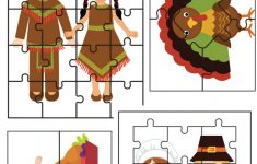 Fall And Thanksgiving Puzzle Activities Printables   Gym Craft Laundry   Printable Puzzles For Preschoolers