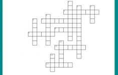 Fall Crossword Puzzle Free Printable Worksheet   7 Printable Crosswords