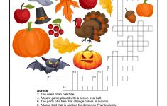 Fall Crossword Puzzle Printable   Halloween   Word Puzzles, Puzzles   Fall Crossword Puzzle Printable