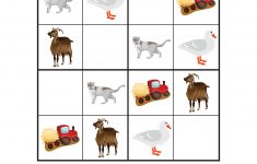 Farm Animals Sudoku Puzzles {Free Printables}   Gift Of Curiosity   Printable Animal Puzzles