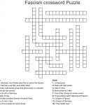 Fascism Crossword Puzzle Crossword   Wordmint   Printable Italian Crossword Puzzles
