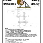 Female Scientists Crossword Puzzle | Woo! Jr. Kids Activities   Printable Crossword Puzzles Science
