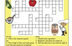 Fiber Puzzle * Please Make Sure To Print The Answer Key As Well   Nutrition Printable Puzzle