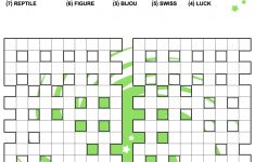 Fill In Crossword Criss Cross Puzzle | Free Printable Puzzle Games   Free Printable Fill In Crossword Puzzles