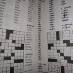 Fill In (Puzzle)   Wikipedia   Printable Diagramless Puzzles