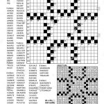 Fill In The Blanks Crossword Puzzle With American Style Grid Of   Printable Blank Crossword Puzzle Grid