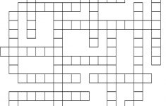 First Aid Crossword Puzzle   Printable Crossword Puzzle First Aid