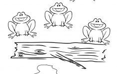 Five Little Speckled Frogs Coloring Page   Free Printable Coloring Pages   Printable Frog Puzzle