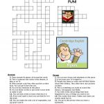 Flyers Vocabulary Puzzles Worksheet   Free Esl Printable Worksheets   Printable Vocabulary Puzzles