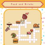 Food And Drinks Crossword Puzzles   Printable Crossword Puzzles May 2019
