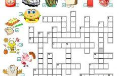 Food   Crossword Worksheet   Free Esl Printable Worksheets Made   Printable Crossword Puzzles About Food