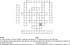 Forensic Science Crossword Puzzle Createdamelia Crossword   Wordmint   Science Crossword Puzzles Printable With Answers
