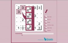 Free And Printable 66 Slitherlink Puzzles To Train Your Brain   Printable Numbrix Puzzles