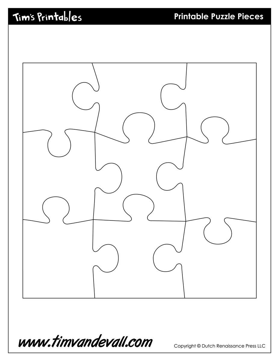 Free Clipart Puzzle Piece Shapes Plugin Puzzle Piece Black Shape Ios - 7 Piece Printable Puzzle