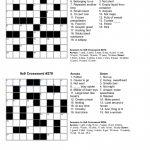 Free Crossword Puzzle Maker Printable   Stepindance.fr   Free   Crossword Puzzles And Answers Printables
