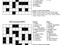 Free Crossword Puzzle Maker Printable   Stepindance.fr   Free   Printable Crossword Puzzles And Answers