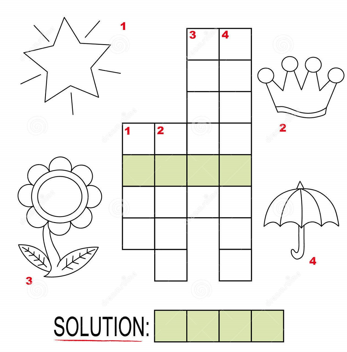 Free Crosswords For Kids Under Nine | Kiddo Shelter - Printable Crosswords For 6 Year Olds