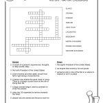 Free Crosswords Puzzle – History 1840 41 (B) – Surviving The Oregon   Printable Usa Crossword Puzzles