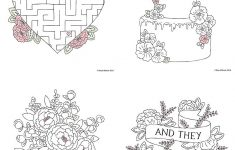 Free Download Printable Wedding Colouring Sheets For Kids | Going To   Printable Wedding Puzzles