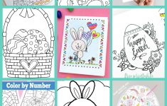Free Easter Coloring Pages   Happiness Is Homemade   Printable Bunny Puzzle