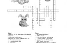 Free Easter Printables For Kids   Coloring Sheets And Crosswords   5   Free Easter Crossword Puzzles Printable