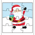 Free Educational Printable Christmas Puzzle Pack   Real And Quirky   Printable Santa Puzzle