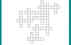 Free #fall Crossword Puzzle #printable Worksheet Available With And   Printable Crossword Puzzles Grade 4