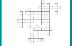 Free #fall Crossword Puzzle #printable Worksheet Available With And   Printable Holiday Crossword