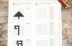 Free Holiday Binary Code Worksheet! Check Out This Awesome Binary   Printable Binary Puzzles