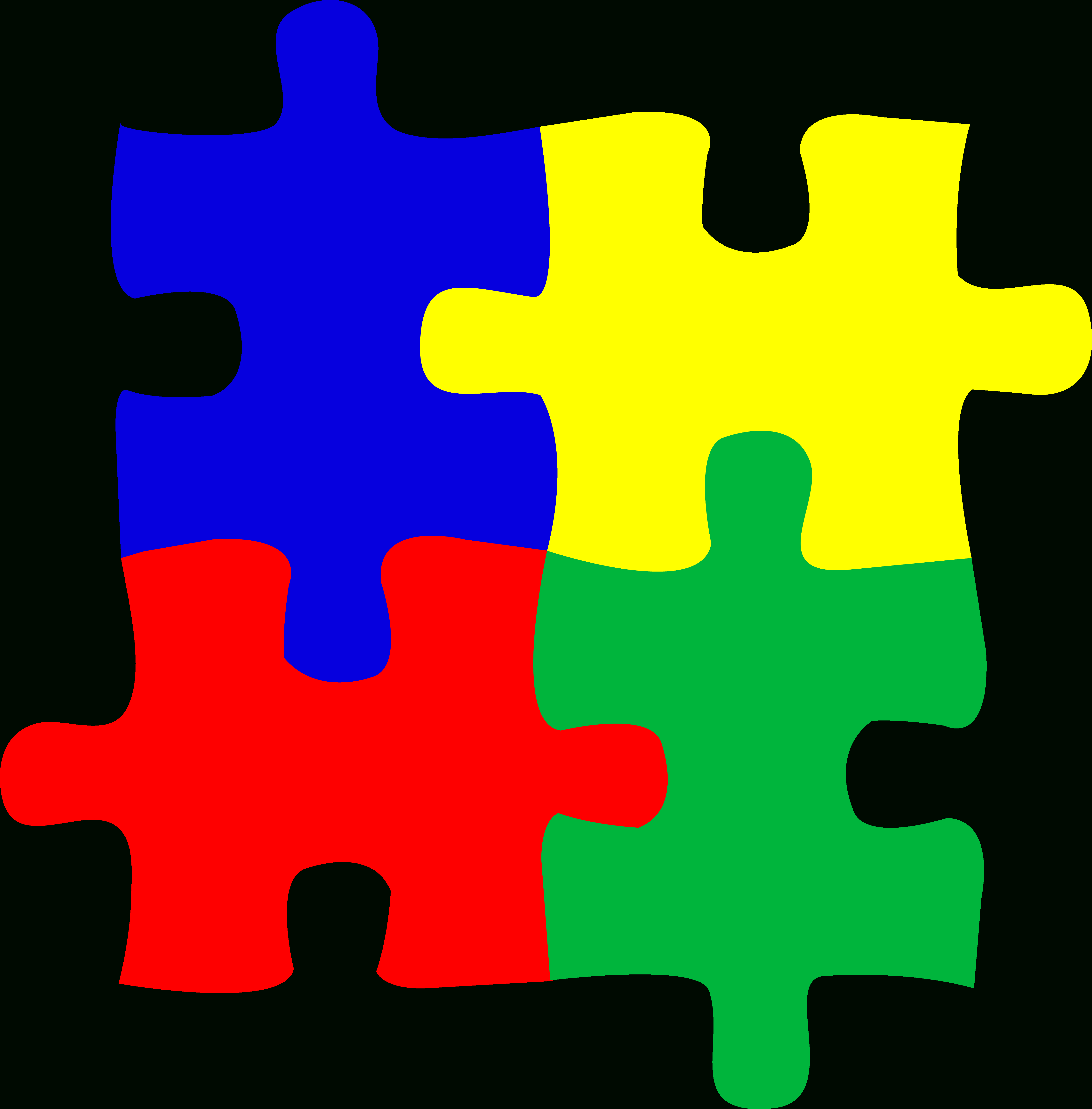 Free Jigsaw Puzzle Clipart, Download Free Clip Art, Free Clip Art On - Printable Logo Puzzle